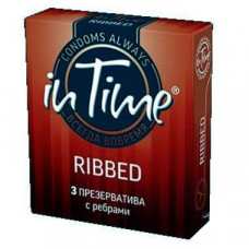 Презервативы IN TIME №12 Ribbed